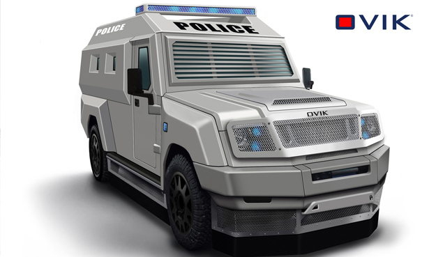 public order armoured vehicle